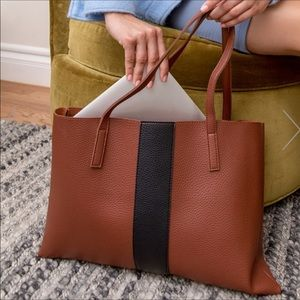 Vince Camuto Vegan Leather Luck Tote Bag
